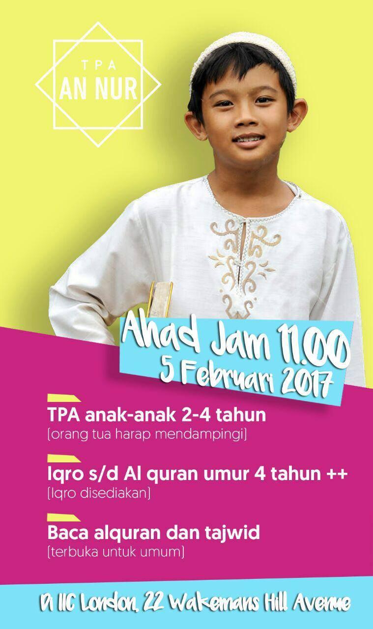 Belajar Membaca Al-Quran untuk Anak-Anak (TPA)